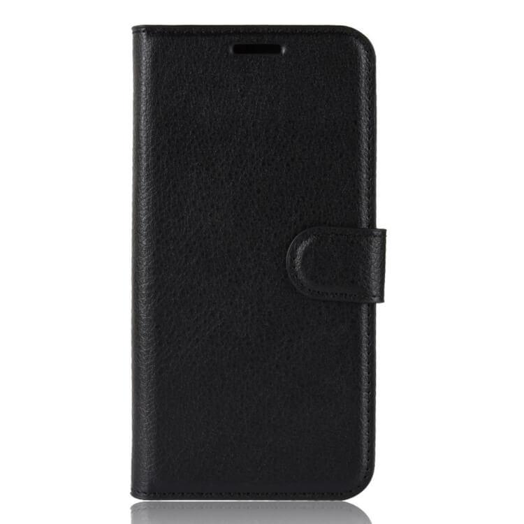 FORCELL LITCHI Peňaženkové puzdro Asus Zenfone Max (M1) ZB555KLOne Zoom čierne