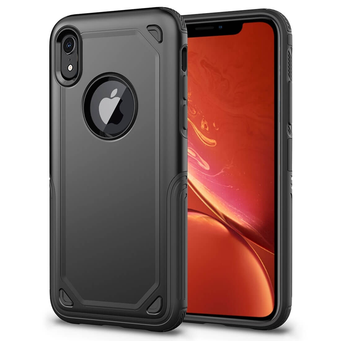 FORCELL SHOCKPROOF Ochranný kryt Apple iPhone XR čierny