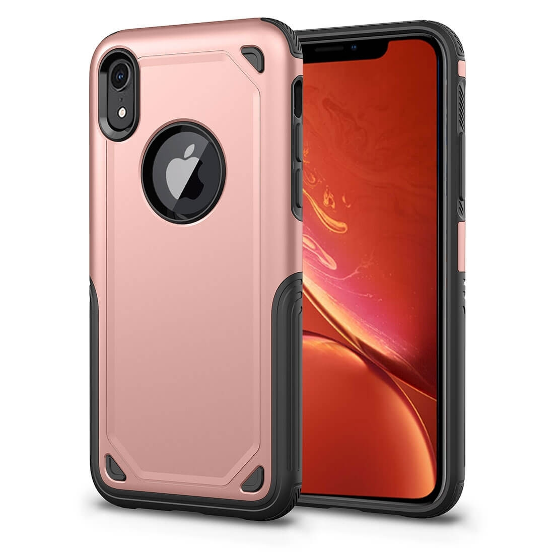 FORCELL SHOCKPROOF Ochranný kryt Apple iPhone XR ružový