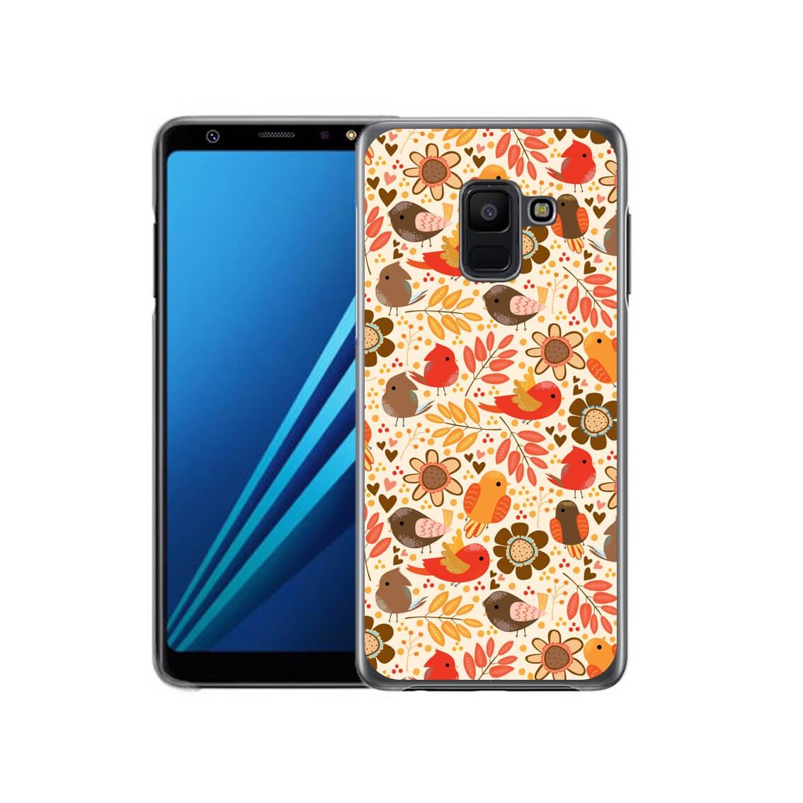 FORCELL MY ART kryt Samsung Galaxy A6 (A600) BIRDS (004) (004)