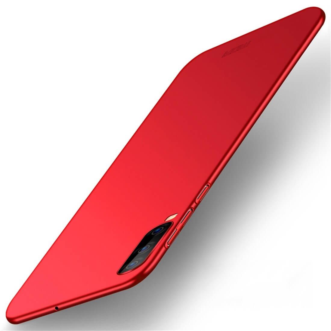 MOFI Ultratenký obal Samsung Galaxy A70 červený