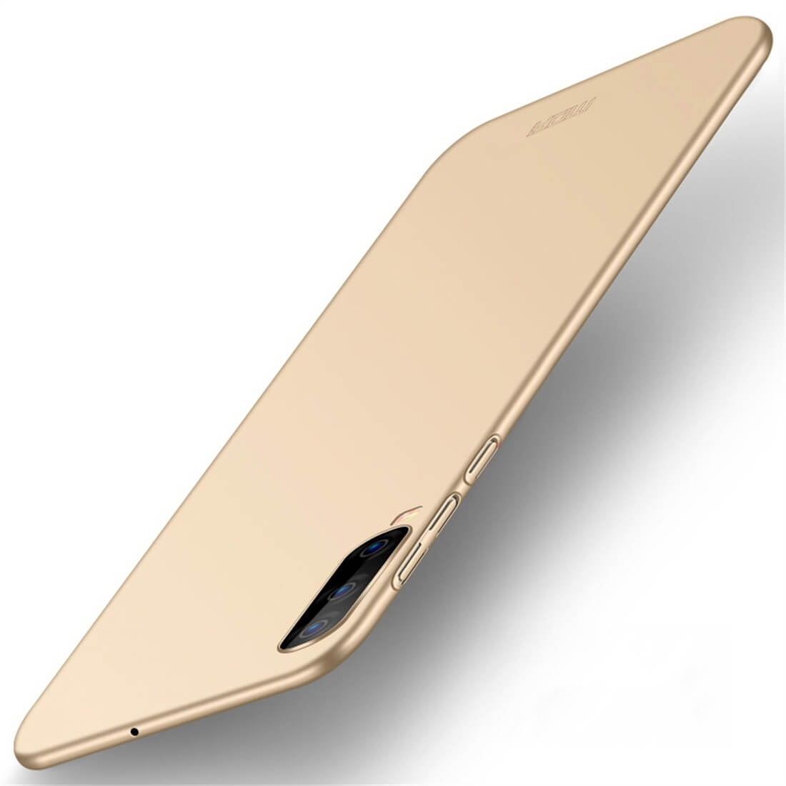MOFI Ultratenký obal Samsung Galaxy A70 zlatý