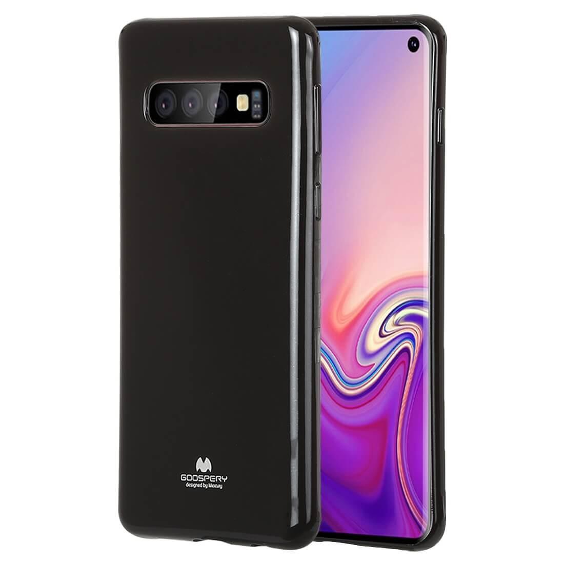 MERCURY JELLY TPU Obal Samsung Galaxy S10 čierny