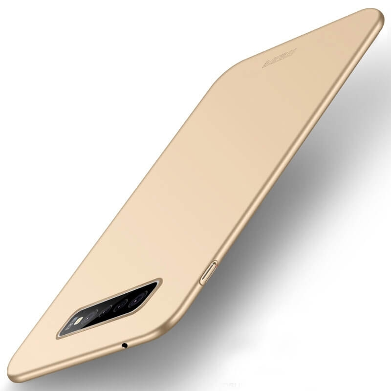 MOFI Ultratenký kryt Samsung Galaxy S10 Plus zlatý