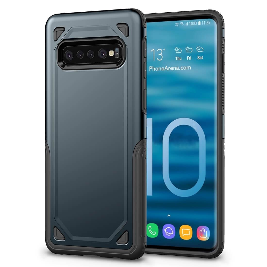 FORCELL SHOCKPROOF Ochranný kryt Samsung Galaxy S10 Plus modrý