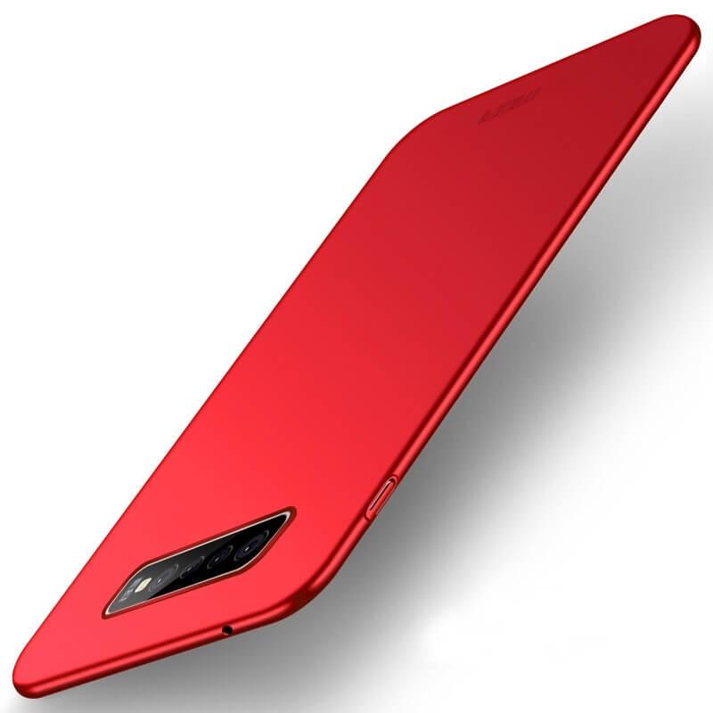 MOFI Ultratenký kryt Samsung Galaxy S10 Plus červený