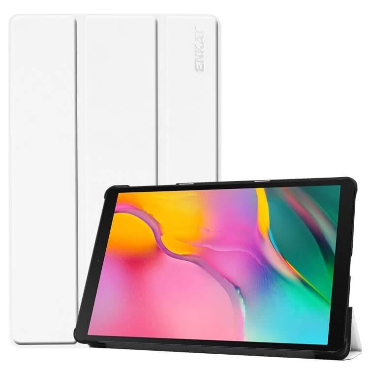 FORCELL ENKAY Flipové puzdro Samsung Galaxy Tab A 10.1 2019 (T515/T510) biele