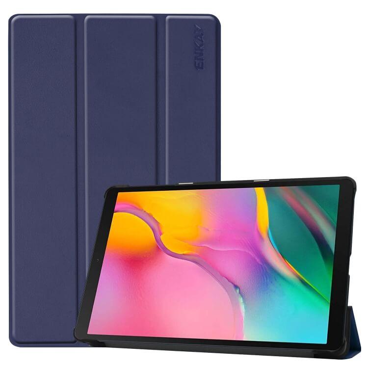 FORCELL ENKAY Flipové puzdro Samsung Galaxy Tab A 10.1 2019 (T515/T510) modré (dark)