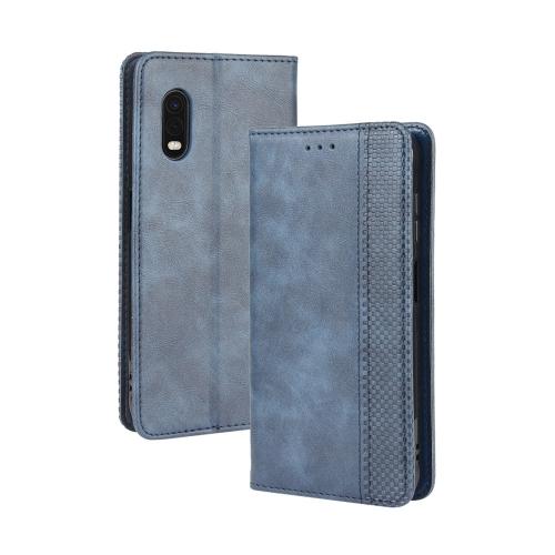 FORCELL BUSINESS Peňaženkový kryt Samsung Galaxy Xcover Pro modrý