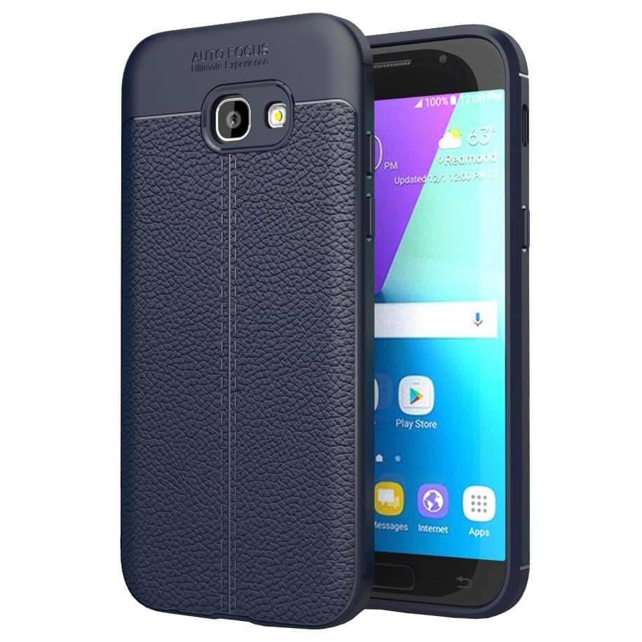 FORCELL PATTERN TPU kryt Samsung Galaxy A5 2017 (A520) modrý
