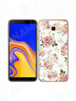 MY ART Ochranný kryt Samsung Galaxy J4 Plus (J415) PINK ROSES