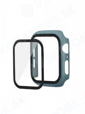 ENKAY Obal s tvrdeným sklom pre Apple Watch 5 / 4 44 mm zelený