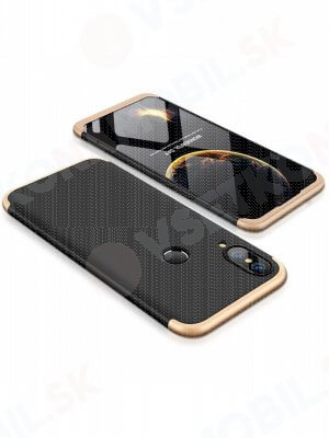 360° kryt Huawei P20 Lite čierny (zlatý)