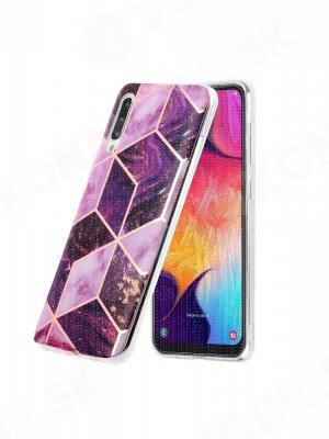 ART TPU Ochranný kryt Samsung Galaxy A50s PURPLE WORLD