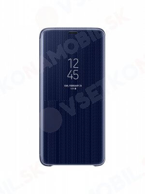 SAMSUNG CLEAR VIEW (EF-ZG960CL) Samsung Galaxy S9 modrý