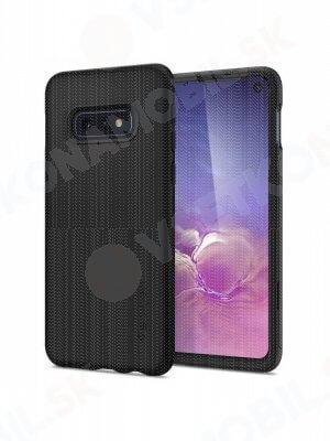 SPIGEN THIN FIT 360° obal + 9H sklo Samsung Galaxy S10e čierny