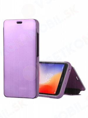 MIRROR Zaklápací kryt Xiaomi Redmi 6A fialový