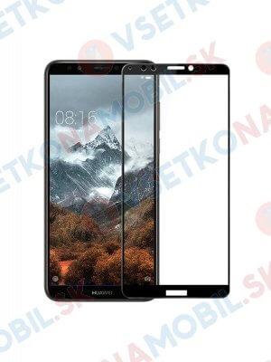 3D Tvrdené sklo Huawei Y7 Prime 2018 čierne