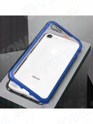 Ochranný magnetický obal Apple iPhone 7 / iPhone 8 modrý (čierny)