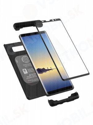 SPIGEN THIN FIT 360° obal + 9H Ochranné sklo Samsung Galaxy Note 8 čierny