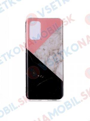 ART Silikónový obal  Samsung Galaxy S20  ultra  PINK BLACK MATCHING