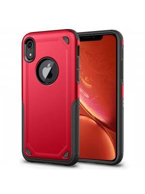 SHOCKPROOF Ochranný kryt Apple iPhone XR červený
