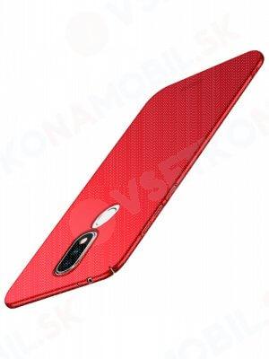 MOFI Ultratenký kryt Nokia 5.1 Plus červený