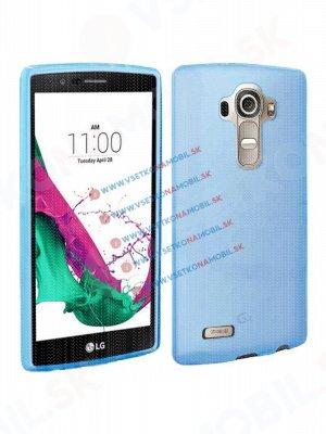 Silikónový obal LG G4c modrý (mini)