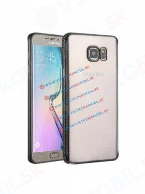 METALLIC TPU obal Samsung Galaxy S6 čierny