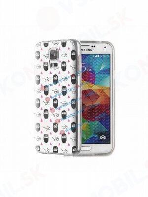 ART Silikónový obal Samsung Galaxy S5 BEARD
