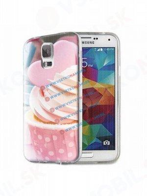 ART Silikónový obal Samsung Galaxy S5 MUFFIN