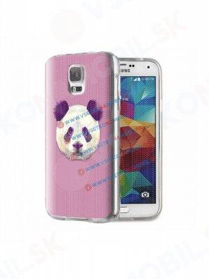 ART Silikónový obal Samsung Galaxy S5 PANDA