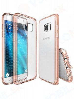 RINGKE FUSION Samsung Galaxy S7 Edge ružový