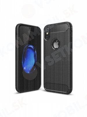 FLEXI TPU Ochranný kryt Apple iPhone XS Max čierny