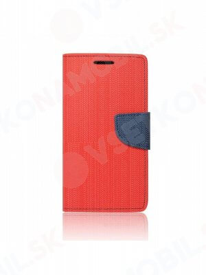 FANCY Peňaženkový obal LG Q6 červený