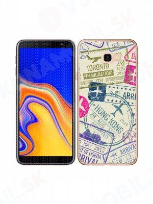 MY ART Ochranný kryt Samsung Galaxy J4 Plus (J415) STAMPS