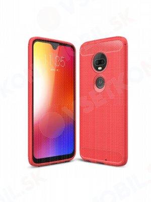 FLEXI TPU Motorola Moto G7 červený