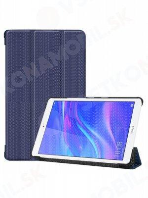 "LEATHER Zaklápací obal Huawei MediaPad M5 Lite 8.0"" modrý"