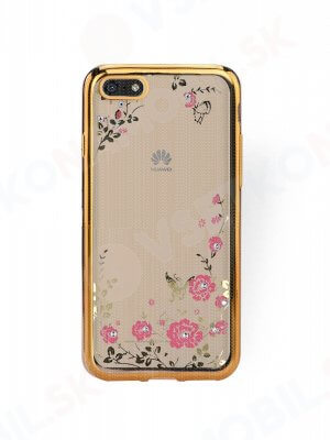 BLOOM TPU obal Huawei Y5 2018 zlatý