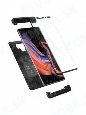 SPIGEN THIN FIT 360° obal + 9H Ochranné sklo Samsung Galaxy Note 9 čierny