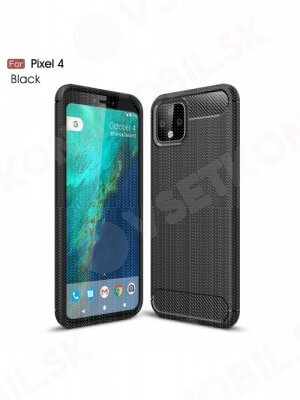 FLEXI TPU Obal Google Pixel 4 čierny