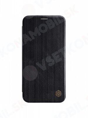 NILLKIN QIN Flipový kryt Apple iPhone XS Max čierny