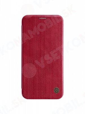 NILLKIN QIN Flipový kryt Apple iPhone XS Max červený