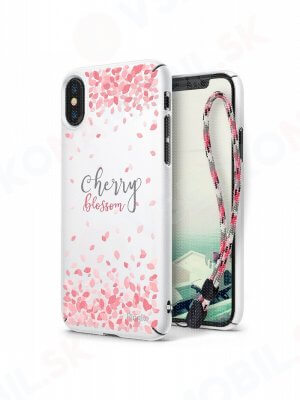 RINGKE CHERRY BLOSSOM obal Apple iPhone X / XS biely