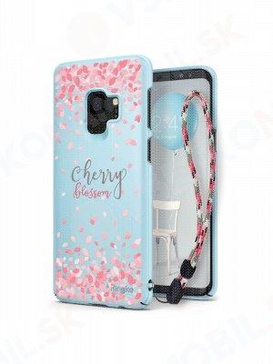 RINGKE CHERRY BLOSSOM obal Samsung Galaxy S9 modrý