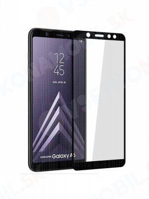 3D Tvrdené sklo Samsung Galaxy A6 (A600) čierne