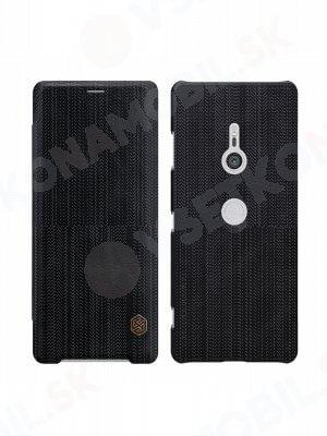 NILLKIN QIN Flipový kryt Sony Xperia XZ3 čierny
