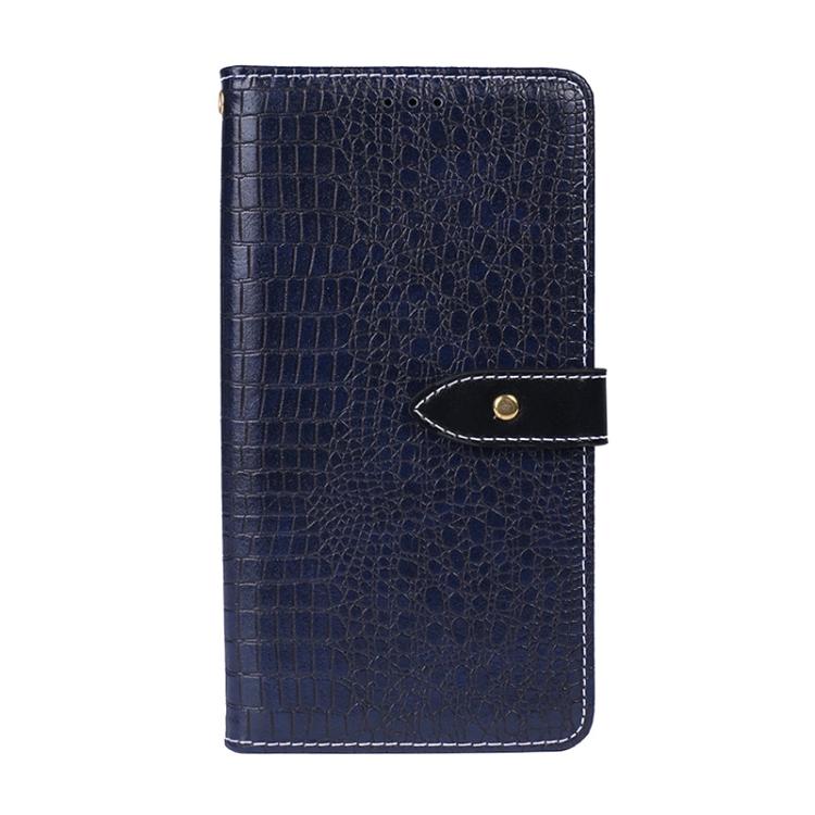FORCELL CROCODILE Peňaženkový obal Lenovo A6 Note modrý