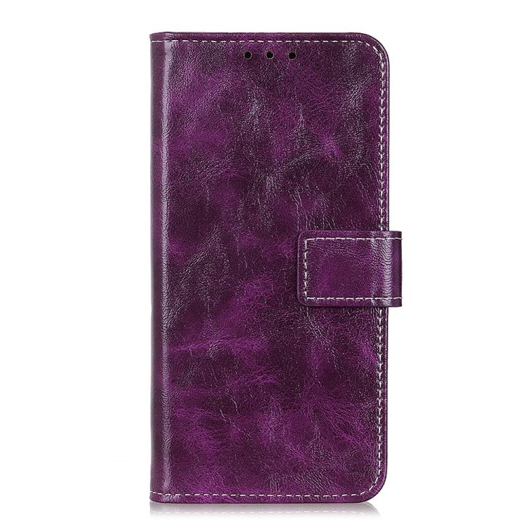 FORCELL RETRO Peňaženkový obal LG K52 / LG K62 fialový