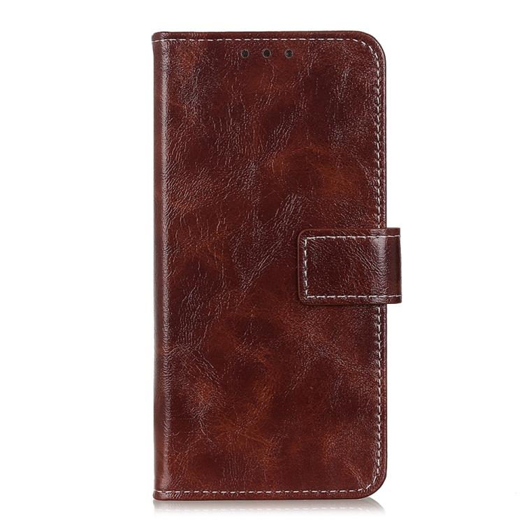 FORCELL RETRO Peňaženkový obal LG K52 / LG K62 hnedý